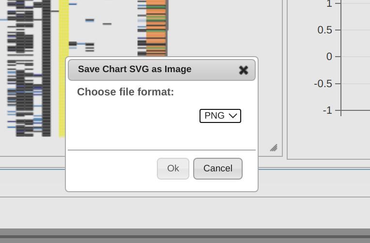 choose format